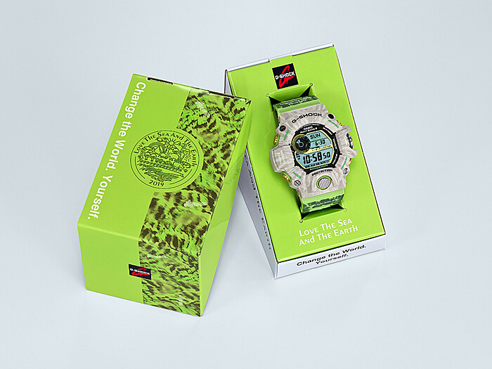 G-Shock Rangeman GW-9404KJ-3JR Edición Earthwatch para Love the Sea and The Earth 2019